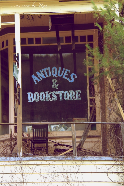 Abandoned Bookstore